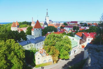 Kohtuotsa viewing platform. (Tallinn, 2018)