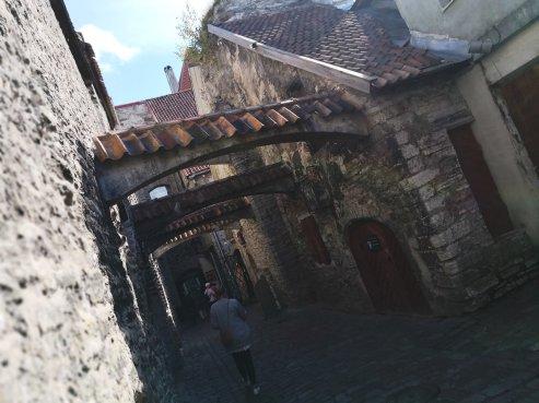 St. Catherine's Passage. (Tallinn, 2018)
