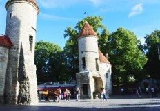 Viru Gate. (Tallinn, 2018)