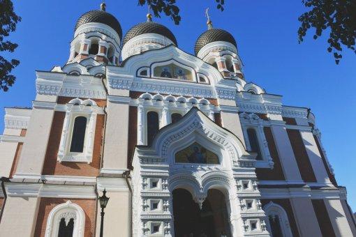 Alexander Nevsky Cathedral. (Tallinn, 2018)