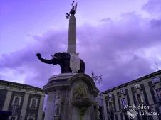Fontana dell'Elefante. (Catania, 2019)