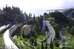 Taormina sea view. (Taormina, 2019)